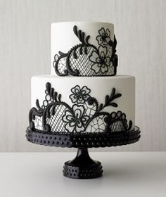 cakes \  Stylish Wedding Cakes | Wedding Cakes, black & white