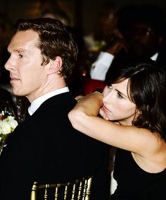 No matter how much money you have or how many fans, with the right woman, you will end up as a pillow pet and you'll love it. -- Benedict Pillowpet and his wife Sophie - :D this makes me really happy, for whatever reason.