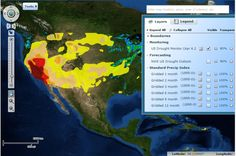 U.S. Drought Monitor Interactive Map