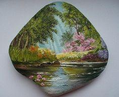 Wonderful art on the stone <3