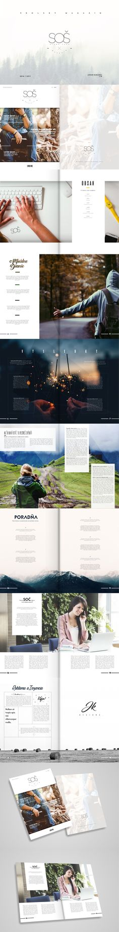 Just some idea of mine, design of magazine for my school but was not appreciated...