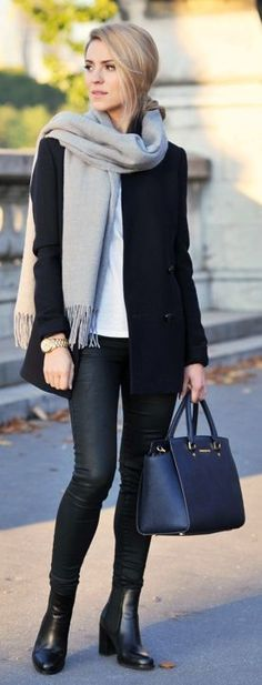 Daily New Fashion : Fall Outfits Inspiration for Street Style