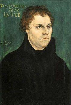 Martin Luther, 1526, Lucas Cranach the Elder, Saxony