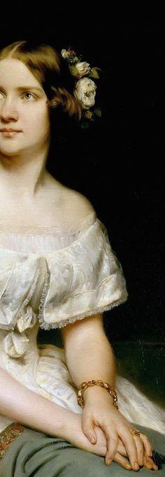 Portrait of Johanna Maria Lind (Lind-Goldschmidt) widely known as Jenny Lind ~ Eduard Magnus ~ Jenny Lind, Portraits, Found Art, Caravaggio, Traditional Paintings, Paintings I Love, Artist Art, Vintage Art, Feminine Mystique
