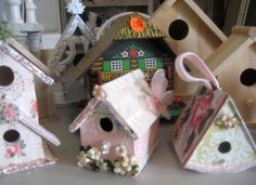Short cuts and tips on blinging up a birdhouse