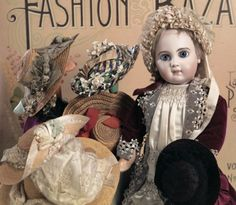 Bon-Bons For The Bonnet Ladies of Tiffin: 2 French Bisque Bebe E.J. by Jumeau