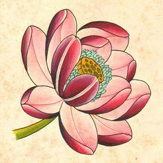 Tattoo ideas for men: Lotus Tattoo Hemet Lotus Flower Tattoo Design, Rose Flower Tattoos, Beautiful Flower Tattoos, Body Art Tattoos, Tattoo Drawings, Sleeve Tattoos, Hand Tattoos, Symbol Tattoos, Tattoo Ink
