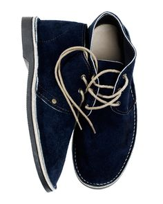 a58b7ab6499 Blue Suede Erongo shoes by Schier.