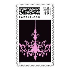 Pink Chandelier Wedding Postage Stamp Discount Dealstoday easy to Shops & Purchase Online - transferred directly secure and trusted checkout...