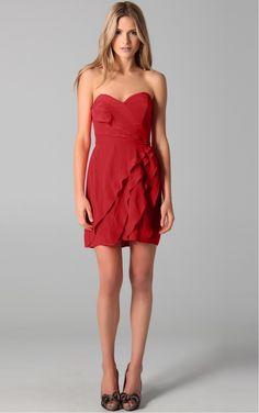 Red Princess Short Sweetheart Dress [Dresses 10374] - $119.00 :