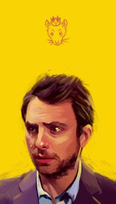 Charlie Kelly, the King of Rats from It's Always Sunny in Philadelphia    Jerry Gao  |  Tumblr