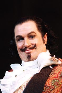 The Woman in White, Original Broadway cast - Michael Ball as Count Fosco