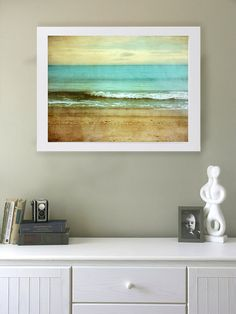 32x24 Beach I Art Print. Beach photography. by donnageissler