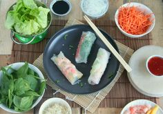 Learn Just how to cook Chinese Food Appetizer Summer Rolls, Spring Rolls, Rice Paper Recipes, Cooking Chinese Food, Good Food, Yummy Food, Asian Recipes, Ethnic Recipes, Healthy Diet Recipes