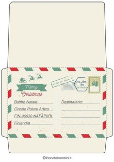 Christmas Is Coming, All Things Christmas, Christmas Time, Christmas Crafts, Xmas, Bullet Journal Mood Tracker Ideas, Christmas Envelopes, Envelope Art, Winter Time