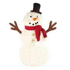 Woodland Wonder Plush Snowman at Big Lots.