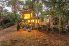 Gingerbread House, Maui, HawaiiHeaded to Maui? How about crashing in this gorgeous garden cottage, where Jimi Hendrix reportedly stayed during his travels in the '70s? It's set on 4.5 acres of land and has a vegetable farm, fruit trees, and a stream. Mahalo!$175/night #refinery29 http://www.refinery29.com/crazy-airbnb-rentals#slide-35