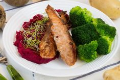 Teriyaki salmon made from scratch from soy sauce, ginger and brown sugar. Grilled Teriyaki Salmon, Teriyaki Glazed Salmon, Spicy Salmon, Easy Fish Recipes, Salmon Recipes, Seafood Recipes, Oven Roasted Salmon, Baked Salmon, Salmon Dishes