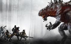 Evolve es un juego de cooperativo donde puedes ser cazador o monstruo. Creado 2K GAMES