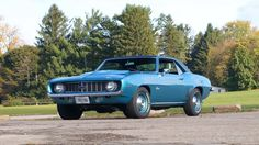 1969 Chevrolet COPO Camaro, Cowl-induction 427/425hp 4bbl V8, HD TH400 auto, HD 4.10 Positraction and F41 suspension