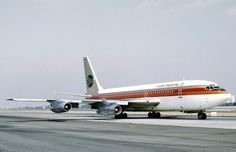 Continental Airlines Boeing 707... The Proud Bird with the Golden Tail!