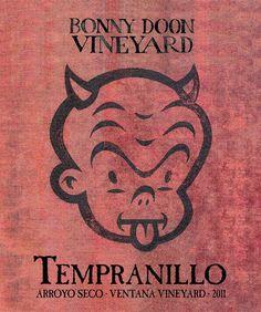 2011 Tempranillo. Label Art by Gary Taxali #bonnydoonvineyard #wine #DEWN