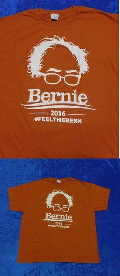 Bernie Sanders: Bernie Sanders Feel The Bern 2016 Shirt 2Xl -> BUY IT NOW ONLY: $5.99 on eBay!