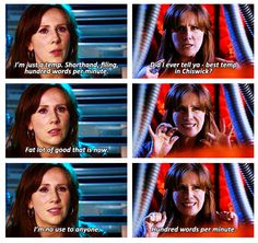 Donna Noble-- Best temp in Chiswick :) This is why I love her - she came SO far, gained so much self-confidence.