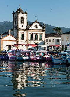 La Maison Des Rêves, Paraty, Brazil Oh The Places You'll Go, Places To Visit, Brazil Carnival, Brazil Travel, World Cities, Largest Countries, Space Travel, Travel Memories, Beautiful Beaches