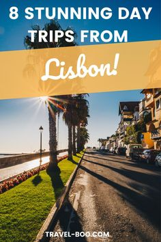 Are you travelling to Lisbon Portugal? Don't miss out on these 8 exciting Lisbon Day Trips to add to your perfect Lisbon Travel Itinerary. Lisbon Things to do! Lisbon Travel. #lisbontravel #lisbonitinerary #lisbonportugal