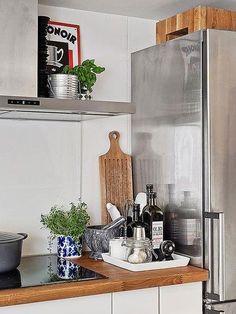 encimeras de madera para la cocina calidez