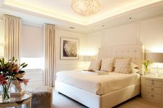 Metropolitan Chic in Boston's Tony Back Bay - contemporary - Bedroom - Other Metro - Mary Prince Photography
