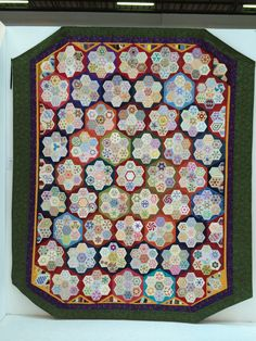 Visitors Choice winner for Thursday - Cinzia White, Traditional Quilt number 733 at The Festival of Quilts 2014
