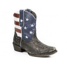 Roper Ladies' Cowboy Boots Brown  Leather