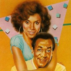 The Huxtables #classic #TheCosbyShow #BlackLove #family #art