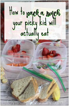 Packing a nutritious school lunch for picky eaters