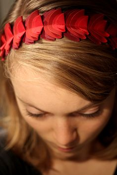 Red fabric hairband Red Fabric, Hair Band, Photo And Video, Fashion, Moda, Red Weave, Fashion Styles, Fashion Illustrations