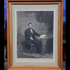 1864 Abraham Lincoln Proclamation Print