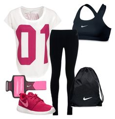 """Nike <3"" by blackswan2712 on Polyvore featuring NIKE"