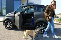 Mit und deinem Hund ein paar Runden drehen. Aixam City GTO. #fahrenab15 #aixamösterreich Roadtrip, Vehicles, Car, Autos, Youth, Boyfriend, Doggies, Automobile, Vehicle