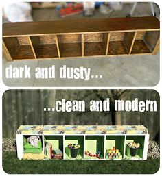 Also other cool crafts ideas too... Thrift Store Crafts {week 2}   So You Think Youre Crafty