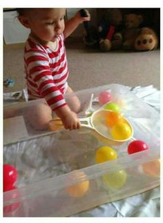 Activities for 1 year olds . - Baby Activities , Activities for 1 year olds . Activities for 1 year olds More Für Kinder. Montessori Activities, Infant Activities, Preschool Activities, Quiet Toddler Activities, Montessori Toddler, Toddler Crafts, Baby Sensory Play, Baby Play, Sensory Toys