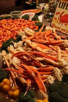 crab leggies