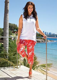 Big Sizes Womens Clothing   Clothes for Larger Size Women - LOHLA PANT - TS14