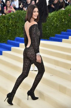 (09/17/17)Miles S.-Although most people think of lavish ruffled outfits as the hottest couture fashion trends, Alexander Wang is making it apparent that the catsuit is back. During the Fall 2017 couture shows it seemed relative to mention the number of catsuits making a comeback. The article believes Bella Hadid's custom catsuit look at the 2017 Met Gala may have sparked inspiration for couture designers. Atelier Versace jumped in on the trend by making a lavish gold and ivory sequined…