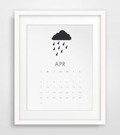 Wall Calendar, Printable Calendar, 2017 Calendar, Calendar, 2017 Wall Calendar, 2017 Monthly Calendar, Monthly Calendar, 2016 Wall Calendar #calendarprints