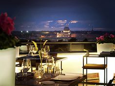 Romantic dinner - Sofitel Rome Villa Borghese in Italy