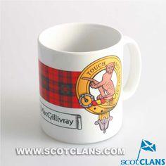 MacGillivray Clan Crest Mug