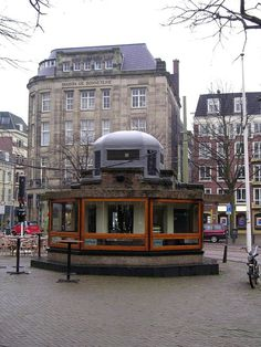 Kiosk van Berlage, Den Haag (1924, arch.: H.P. Berlage).