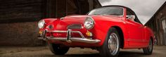 Red Karmann Ghia